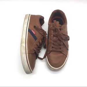 Levi's Brown Vegan Leather Sneakers